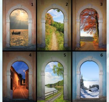 Выбери ворота и узнай свой характер (психологический тест)