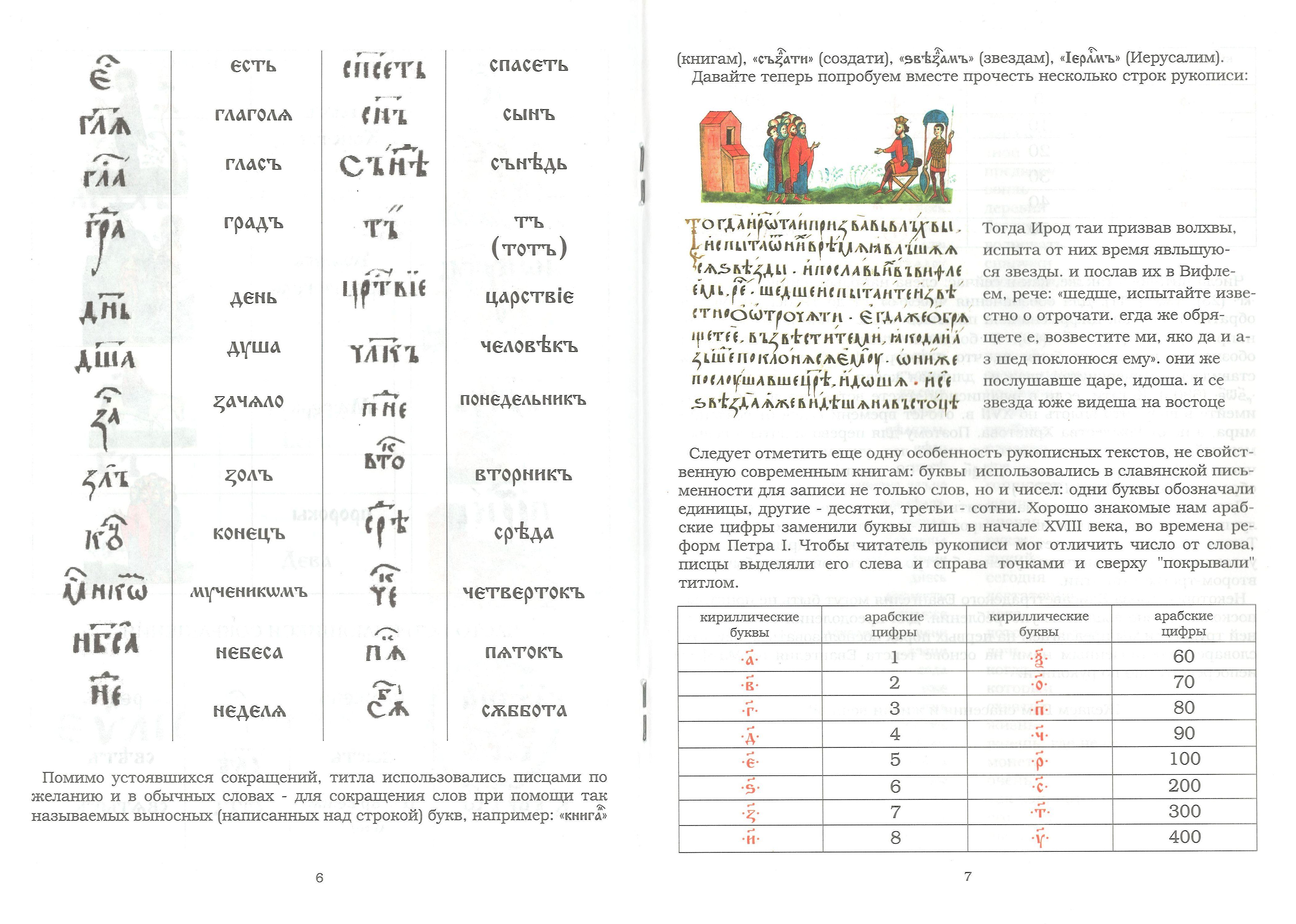 Учебник по древнеславянскому языку (инфографика, 5 фото)