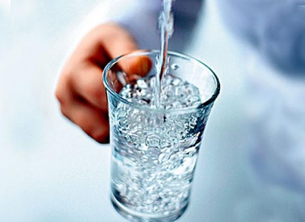 Измените время приема воды - это очень важно!