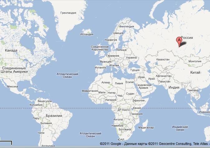 seversk shk map